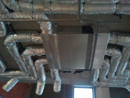 Conduits de ventilation isolés