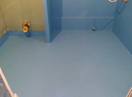 Hidroizolācija vannas istabās