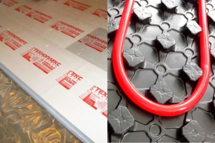 EPSP un profila paklājs