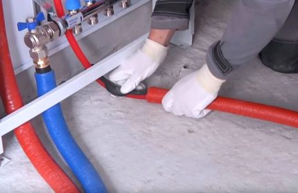 Couvercles de protection de tuyaux