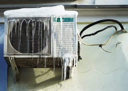 Air conditioning in winter