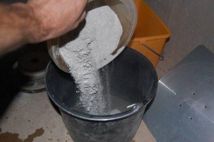 Vaislas sausais maisījums hidroizolācijai