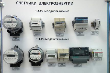 Modern counters