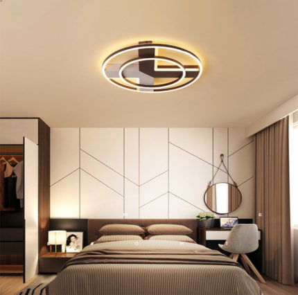 LED lamp in the bedroom