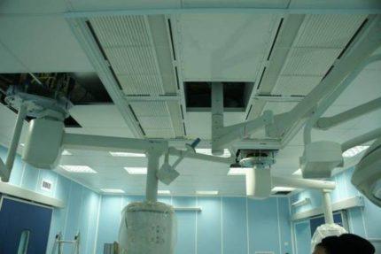 Griestu ventilācijas kanāli