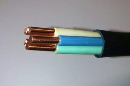 Câble en cuivre VVG