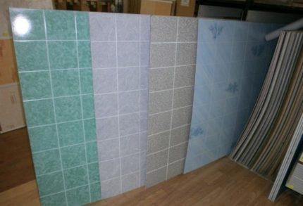 Panneaux en feuille de PVC