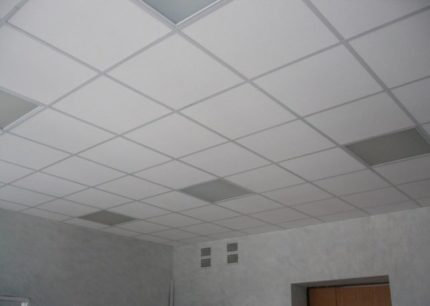 Faux plafond Armstrong