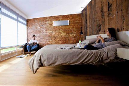 Air conditionné dans une grande pièce