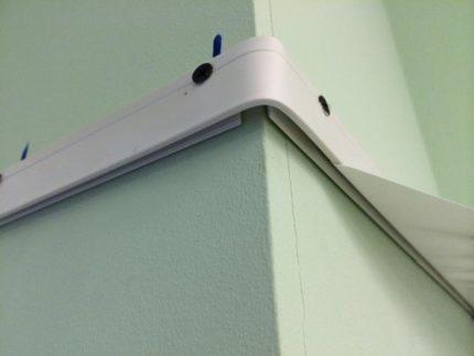 Profil de plafond tendu